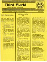 Newsletter of the Third World Faculty and Staff Association of LaGuardia Community College, 1989 Winter