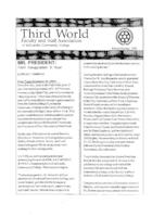 Newsletter of the Third World Faculty and Staff Association of LaGuardia Community College, 1991 Winter, Spring