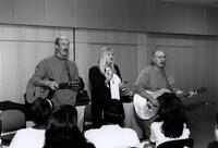 Folk Group Peter, Paul and Mary perform at LaGuardia Community College - 1995