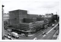 Construction of the E Building - June 22, 1990