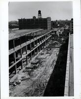 Construction of the E Building