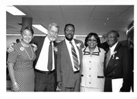 Eileen Murray, Donald Davidson, Dorrie Williams, Avis Anderson, Roy McLeod at an event