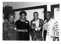 Eleanor Gittens, Shirley Saulsbury, Fern Kahn, Geradine Minter at the LaGuardia Reunion