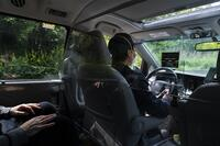Taxi ride during COVID-19