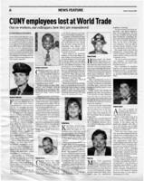 CUNY employees lost at World Trade